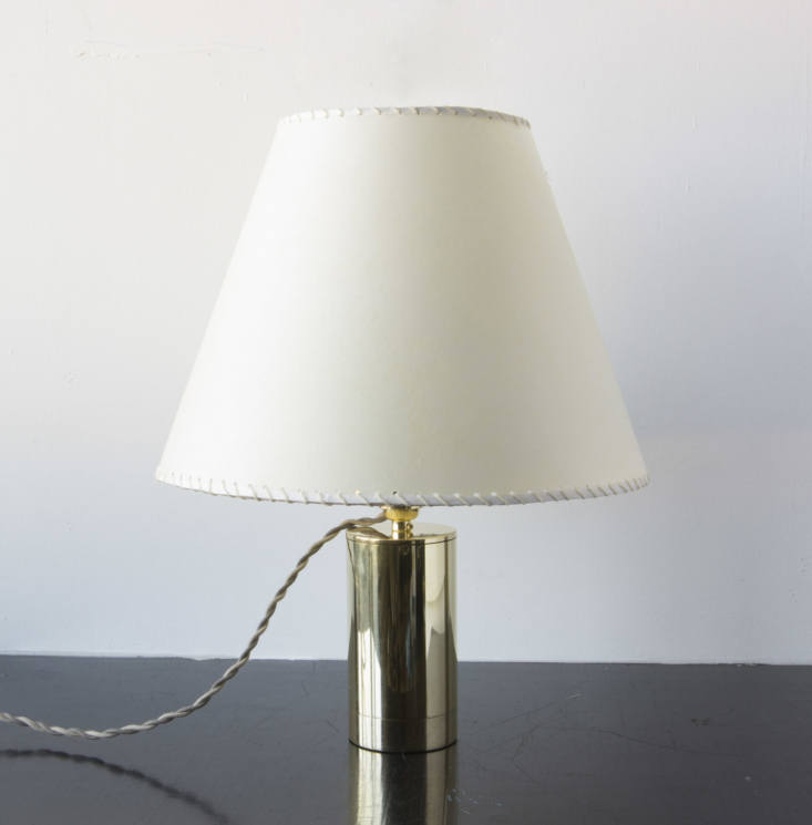 The Series 02 Table Lamp in polished unlacquered brass is $2,200.