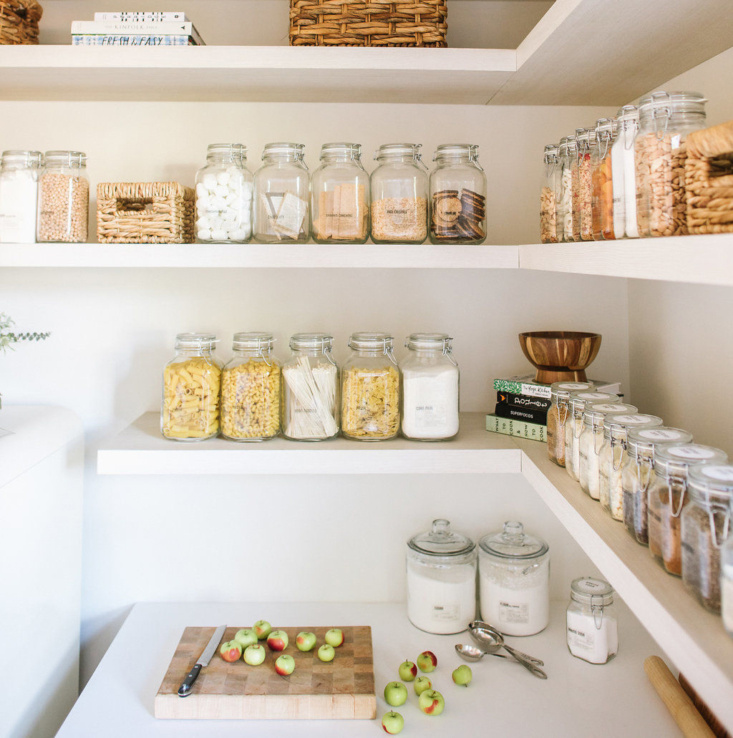 A few weeks ago The Organized Home spotlighted the Remodelista Considered Design Awards winner in the Best Kitchen Organization category. This week it featured one of the runners-up. See Steal This Look: The Modern Farmhouse Pantry (a Remodelista Considered Design Awards Finalist). Photograph by Delbarr Moradi.