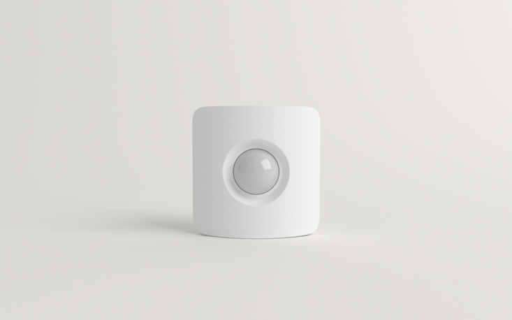 """SimpliSafe's Motion Sensor covers an entire room or hallway and can distinguish between humans and pets. """"No more alarms that cry wolf,"""" says the company."""