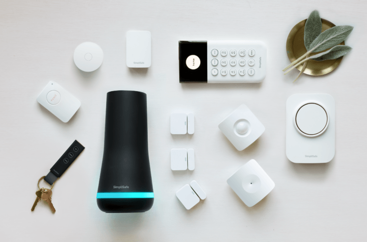 SimpliSafe sensors complement each other as a suite, but seamlessly disappear into your home.