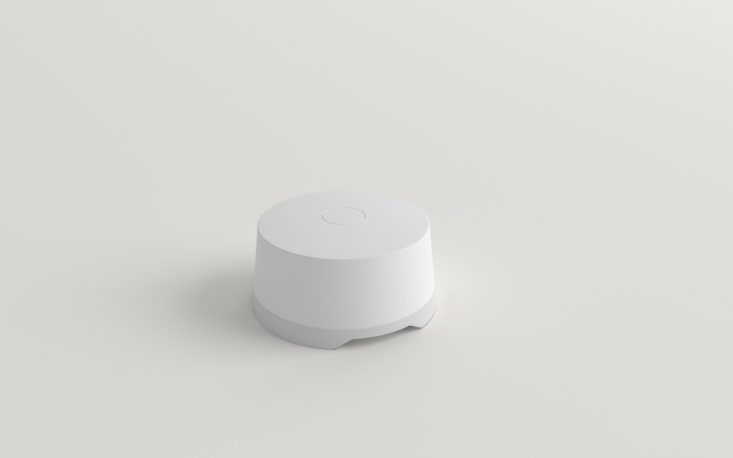 SimpliSafe's Water Sensor sounds an alarm when it detects water and can notify you by e-mail or text.