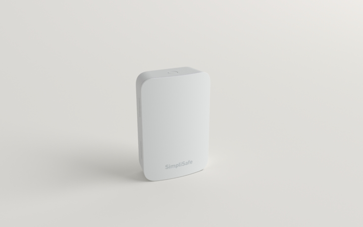 SimpliSafe's low-profile Temperature Sensor triggers if your home drops below 41 degrees Fahrenheit, so you can prevent expensive burst pipes. As with all of SimpliSafe's sensors, it requires no tools or drilling to mount and can be easily relocated if necessary.