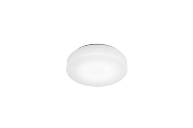 For a flush-mount light similar to the ceiling light in the office, see the WAC Lighting BLO LED Ceiling Light ($72 to $90 at YLighting) or the Oxygen Lighting Rhythm Ceiling Light ($122 to $139).