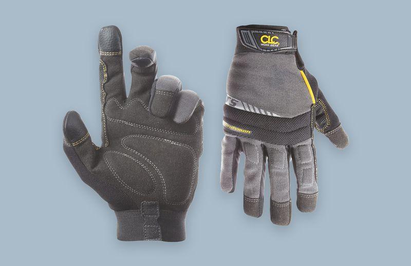 Custom Leathercraft Handyman Flex Grip Work Gloves