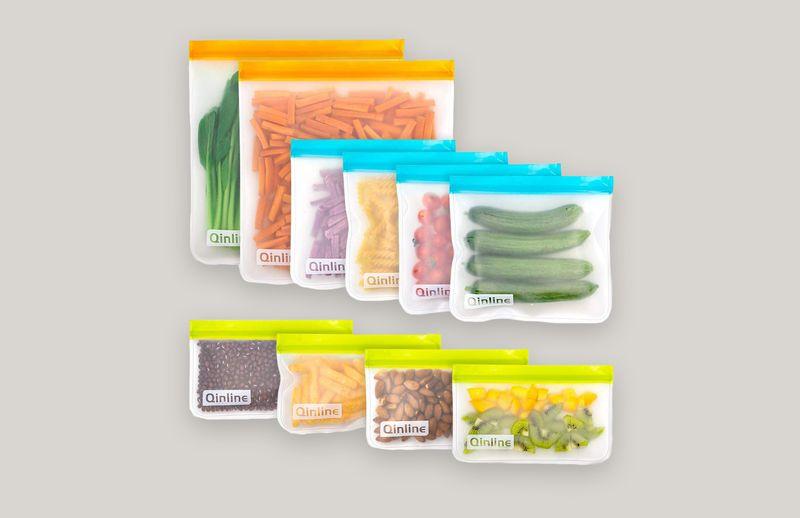 Qinline Reusable Storage Bags