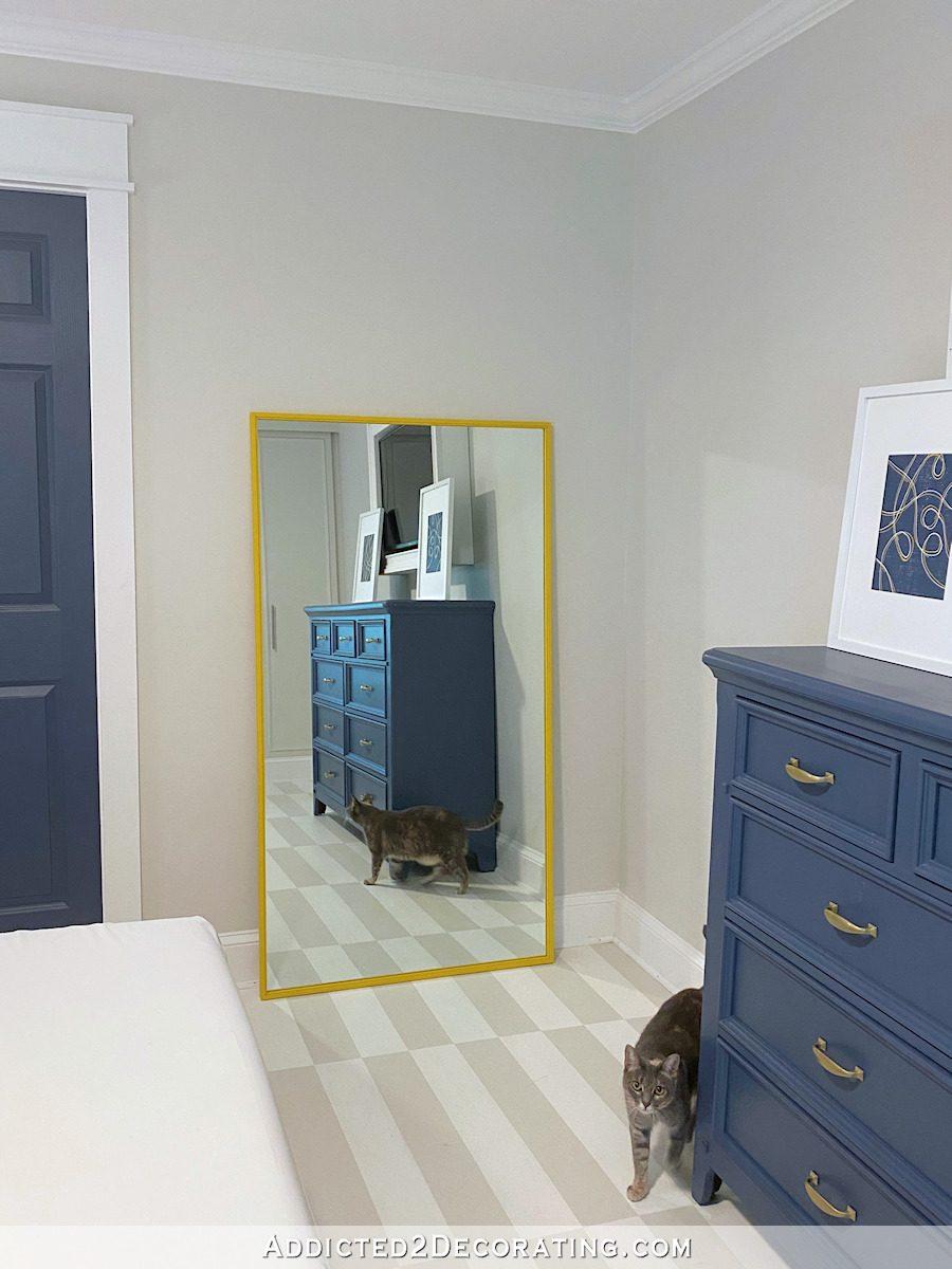 framed full length mirror - 16
