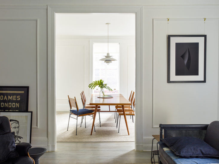 Matthew Axe Jackson Heights Apartment Dining Room by Eric Piasecki