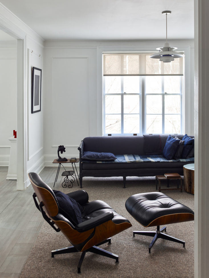 Matthew Axe Jackson Heights Apartment Living Room by Eric Piasecki
